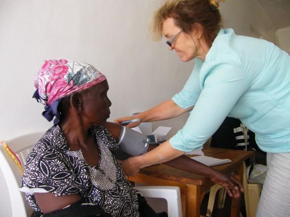 Initial screening by visiting nurse
